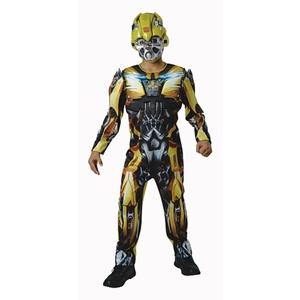Rubie´s - Kinderkostüm, Transformers, Bumblebee Deluxe, Größe L