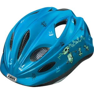 ABUS - Fahrradhelm Super Chilly Gr. M, Robot Blue