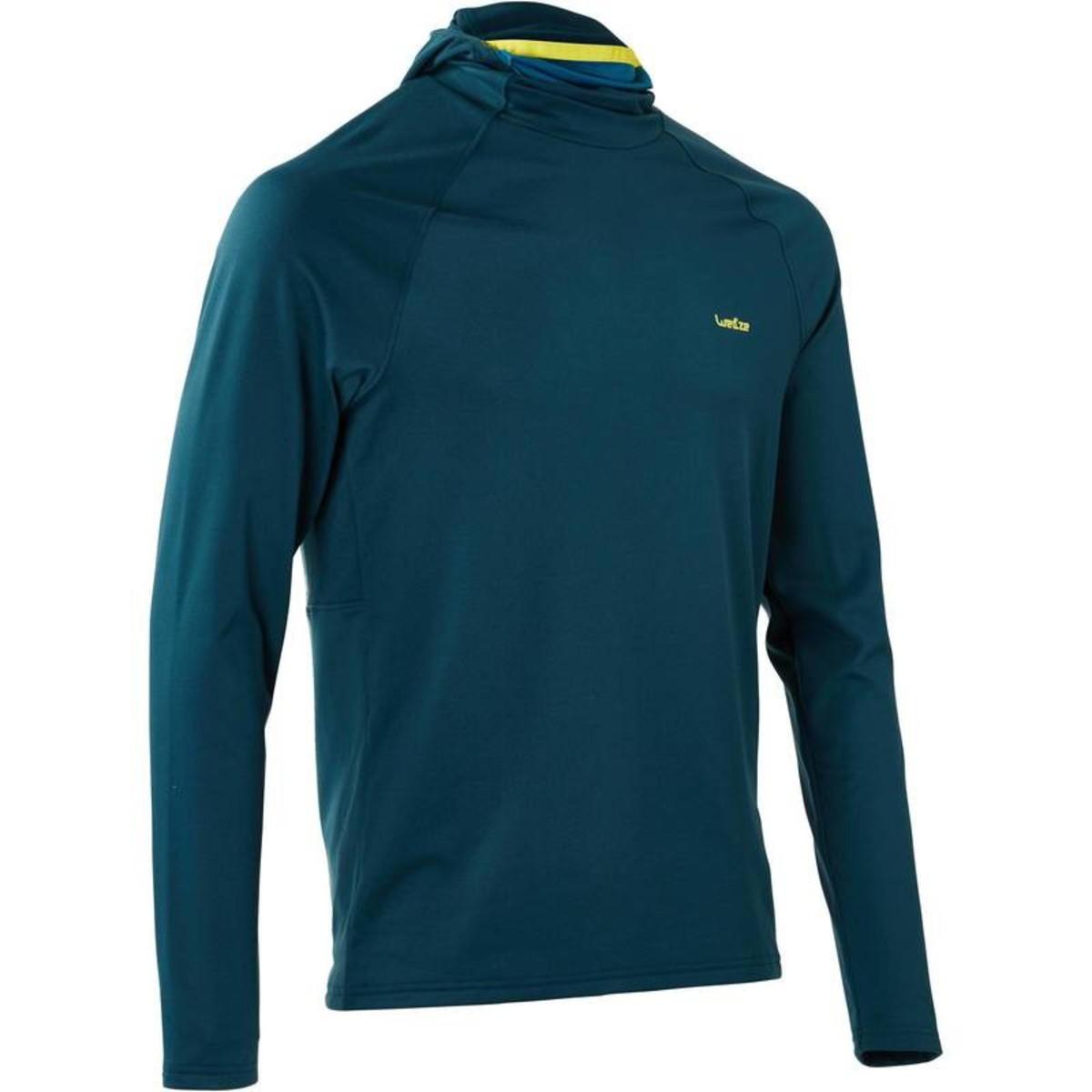 Bild 1 von WED´ZE Skiunterwäsche Funktionsshirt Freshwarm Neck Herren blau , Größe: S