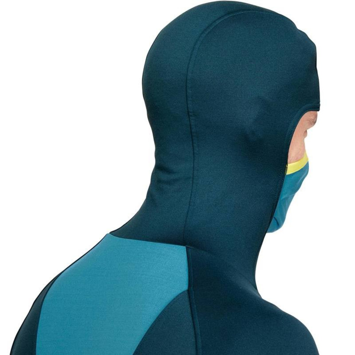 Bild 2 von WED´ZE Skiunterwäsche Funktionsshirt Freshwarm Neck Herren blau , Größe: S