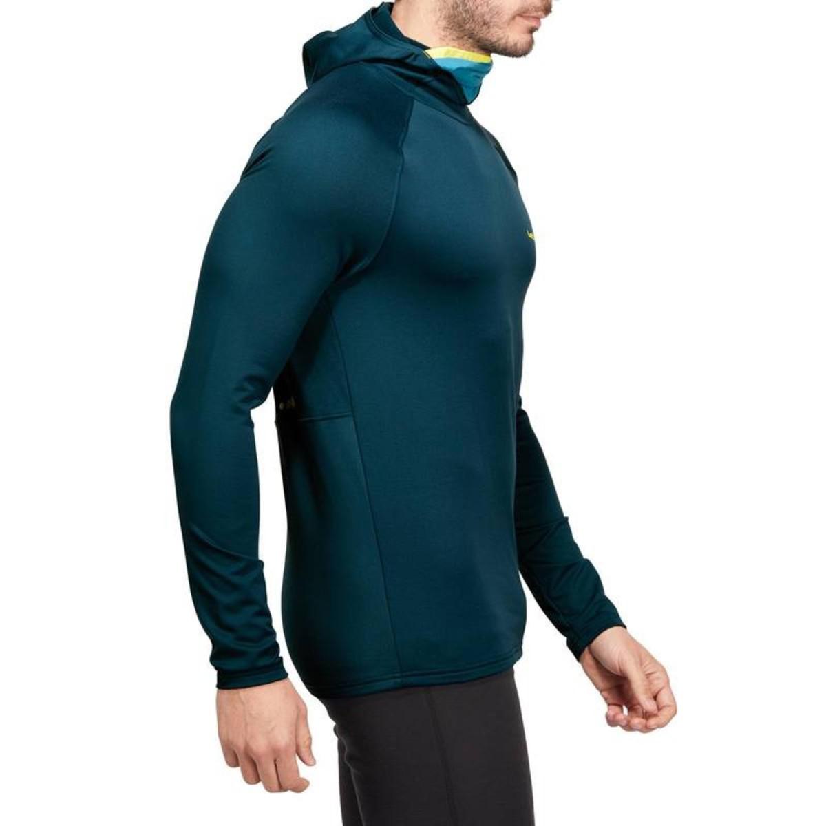 Bild 4 von WED´ZE Skiunterwäsche Funktionsshirt Freshwarm Neck Herren blau , Größe: S