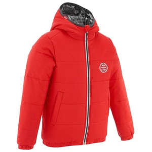 WED´ZE Skijacke Warm Reverse Kinder rot, Größe: 6 J. - Gr. 116