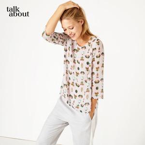 talkabout - Chiffon-Bluse mit Käfer-Print