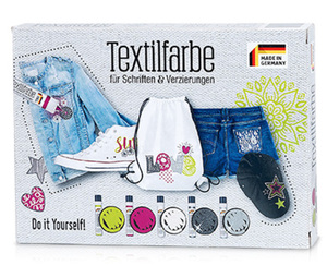 Textilfarben-Set