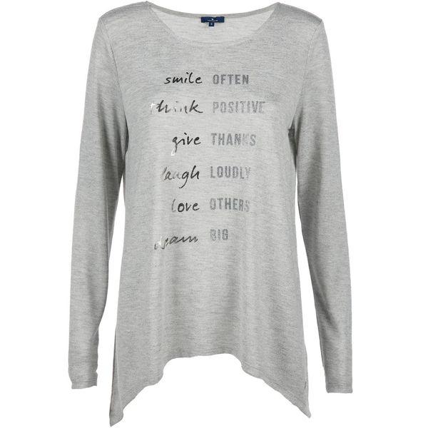 f9a38123ab63bf Damen Langarmshirt mit Glitzer Print von AWG Mode ansehen ...