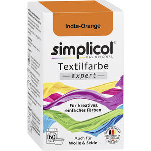 simplicol Textilfarbe expert Nr. 1702 India-Orange 2.33 EUR/100 g