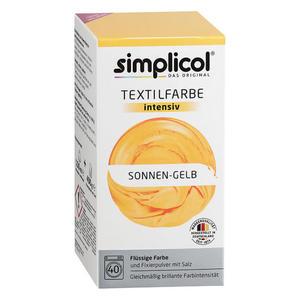 simplicol Textilfarbe intensiv Nr. 1801 Sonnen-Gelb 1 Set