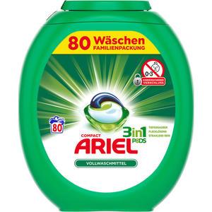 Ariel Compact 3in1 Pods Vollwaschmittel, 80 WL 0.25 EUR/1 WL