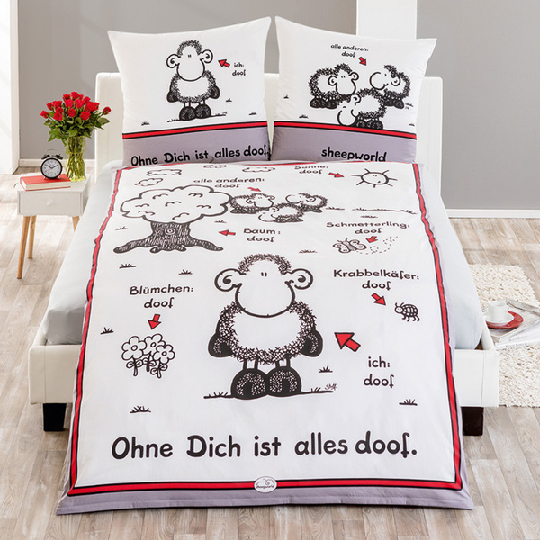 Sheepworld Original Sheepworld Renforcé Bettwäsche Von Norma