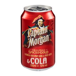 Captain Morgan Spiced Gold & Cola