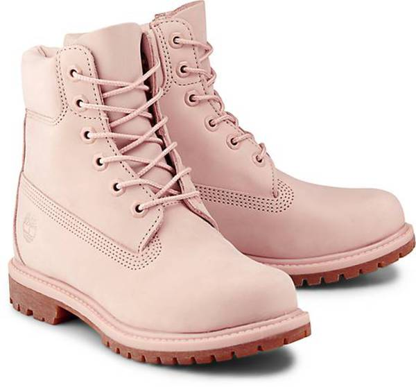 sports shoes 373a8 3e729 Boots PREMIUM 6 von Timberland in rosa für Damen. Gr. 37,37 1/2,38,38  1/2,39,39 1/2,40,41,41 1/2