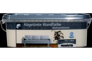 Primaster Wandfarbe Wohnambiente  champagner, 2,5 l