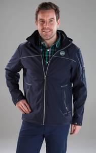 Softshell Jacke, Farbe marine, in verschiedenen Größen