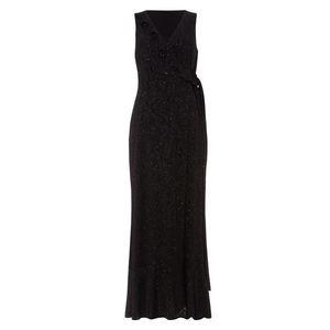Phase Eight Damen Lurex-Kleid Neona, schwarz