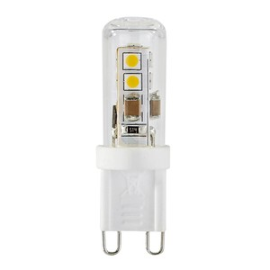 HOMEWARE LED Leuchtmittel 2-er-Set G9 G9 2,2 W, Weiß
