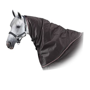 FOUGANZA Halsteil Neckcover Allweather 500 Pferd grau, Größe: Vollblut/135 CM/145 CM