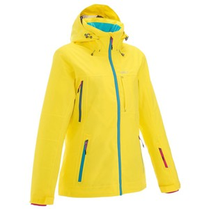 Skijacke Free 500 Damen gelb WED'ZE
