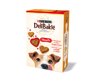 Purina DeliBakie Hearts, 350g