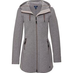 Tom Tailor Damen Jersey-Jacke mit Kapuze