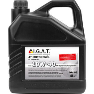 I.G.A.T Motorenöl 4-Takt        HC-Synthese, SAE 10W-40, 4 Liter