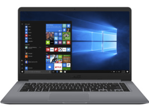 ASUS S510UN-BQ299T, Notebook mit 15.6 Zoll Display, Core™ i7 Prozessor, 16 GB RAM, 1 TB HDD, 512 GB SSD, GeForce MX150 (N17S-G1), Grau