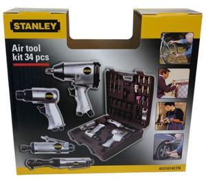 Stanley 34tlg. Zubehör Set für Druckluft - Kompressoren, Airtoolkit 34 pieces