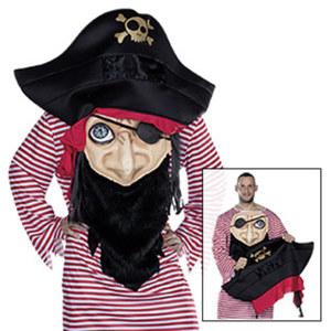 Verrückter Pirat Größe: XS, Standard (entspricht M - L)