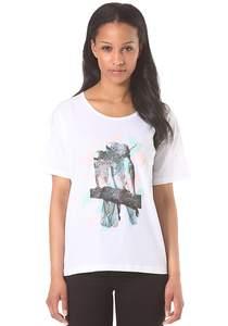 Cleptomanicx Tropical - T-Shirt für Damen - Weiß