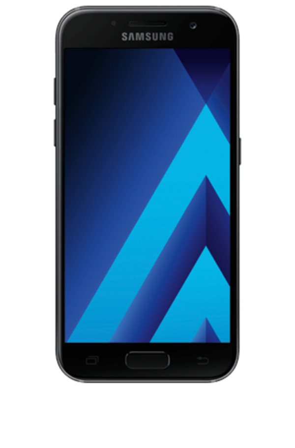samsung galaxy a3 2017 mit o2 free l mit 20 gb schwarz. Black Bedroom Furniture Sets. Home Design Ideas