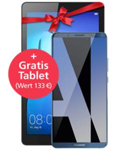 Huawei Mate 10 Pro mit Tablet mit o2 Free L mit 20 GB blau