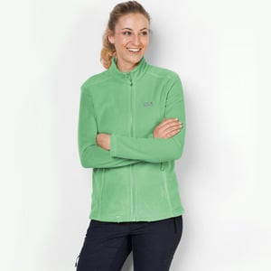 Jack Wolfskin Fleecejacke Frauen Moonrise Jacket Women XXL spring green