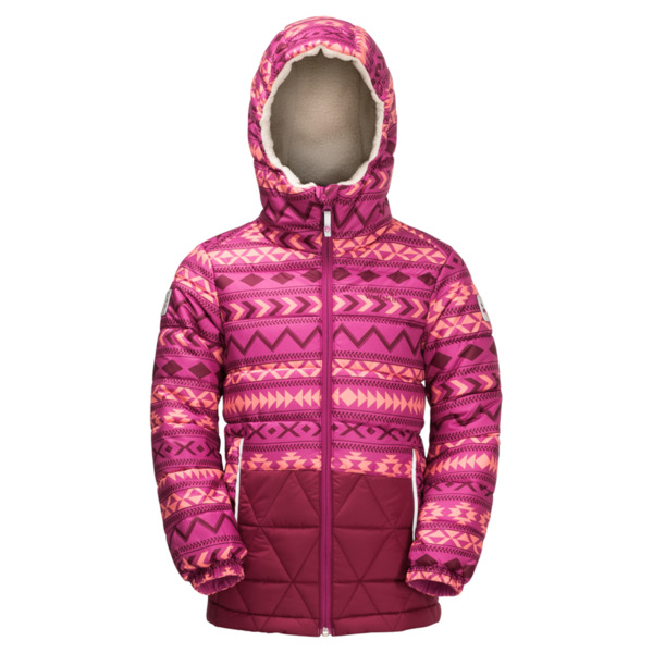 Jack Wolfskin Winterjacke Kinder Kids Inuit Bear Jacket 152 fuchsia allover