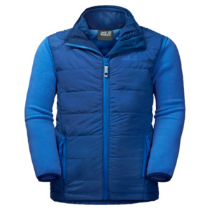 Jack Wolfskin Fleecejacke Kinder Glen Dale Kids 176 royal blue