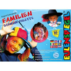 Eulenspiegel Familien Schmink-Palette
