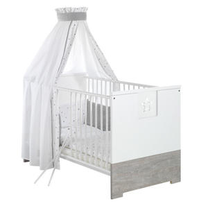Schardt Kombi-Kinderbett ´´Eco Star´´, weiß