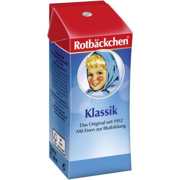 Rotbäckchen Klassik Saft Trinkpäckchen 0.58 EUR/100 ml