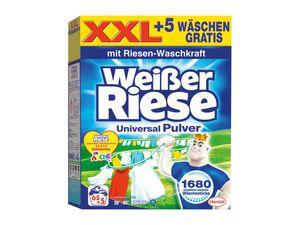 Weißer Riese Pulver 65+5 Wäschen
