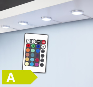 TEC STAR RGB-LED-Unterbauspots-Set