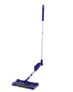 Akku-Besen SWIVEL SWEEPER blau Clean Maxx