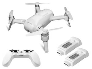 Breeze Quadcopter WMT mit Breeze, Controller, 2 Akkus EU Yuneec