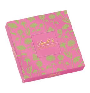 LINDT             Mini-Pralinés pink, 100g                  (2 Stück)