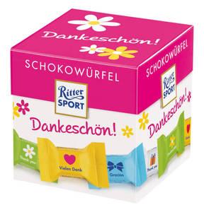 RITTER SPORT             Schokowürfel Danke schön, 176g