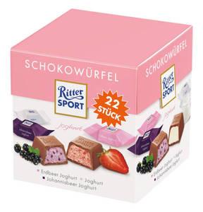 RITTER SPORT             Schokowürfel Joghurt, 176g