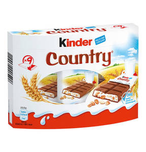 FERRERO             kinder Country Riegel 9-teilig, 211g