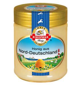 Bihophar             Honig aus Norddeutschland 500g
