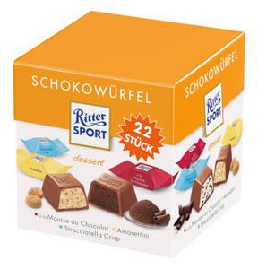 RITTER SPORT             Schokowürfel Dessert, 176g