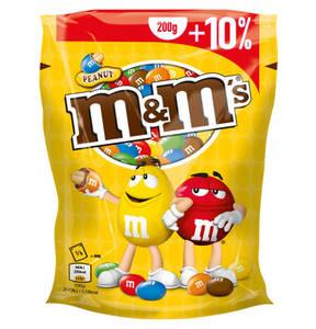 Mars             m&m´s Peanut 200g + 10% gratis