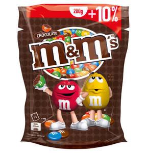 Mars             m&m´s Choco 200g + 10% gratis