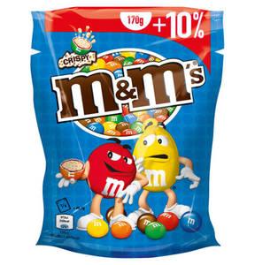 Mars             m&m's® Crispy 170g + 10% gratis