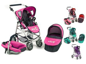 Bayer CHIC 2000 Kombipuppenwagen EMOTION 3 in 1